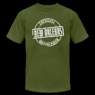 T-Shirts ~ Men's T-Shirt by American Apparel ~ New Orleans Title American Apparel T-Shirt