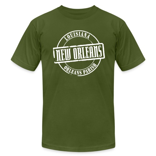 New Orleans Title American Apparel T-Shirt - Men's Fine Jersey T-Shirt