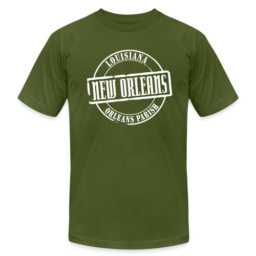 New Orleans Title American Apparel T-Shirt - Men's  Jersey T-Shirt