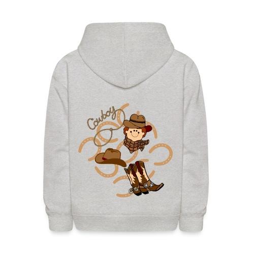 cowboy kids hoodie - Kids' Hoodie