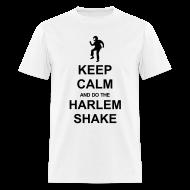 T-Shirts ~ Men's T-Shirt ~ Keep Calm - Harlem Shake (White)