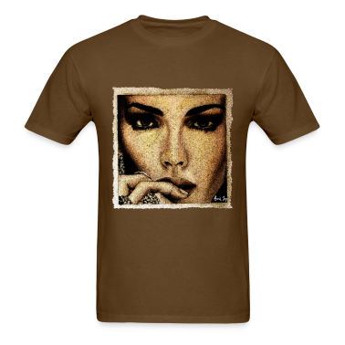 Woman with rings T-Shirts