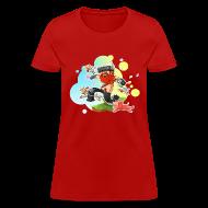 T-Shirts ~ Women's T-Shirt ~ Ladies Tee: Honeydew's Pets