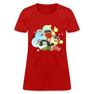Ladies Tee: Honeydew's Pets - Women's T-Shirt