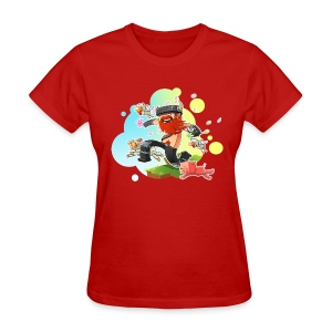 Ladies Tee: Honeydew's Pets - Women's T-Shirt