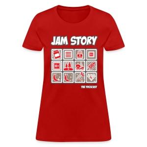 Ladies Tee: Jam Story - Women's T-Shirt