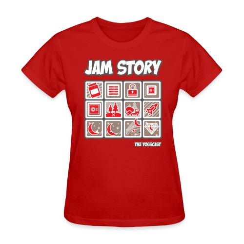 Ladies Tee: Jam Story - Women's T-Shirt