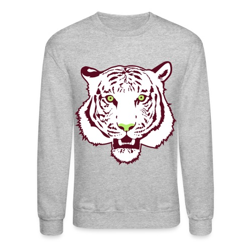 White tiger crewneck sweatshirt - Crewneck Sweatshirt
