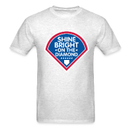 T-Shirts ~ Men's T-Shirt ~ Shine Bright On The Diamond Shirt