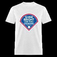 T-Shirts ~ Men's T-Shirt ~ Shine Bright On The Diamond Shirt