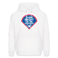 Hoodies ~ Men's Hoodie ~ Shine Bright On The Diamond SweatShirt