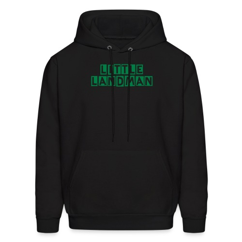 Team Little Landman Men's Hooded Sweatshirt Black - Men's Hoodie