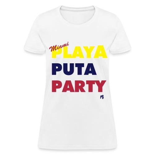 Men's Miami Motto (Colombian, Venezuelan Edition)  - Women's T-Shirt