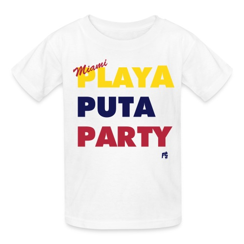 Chamaco Miami Motto (Colombian Venezuelan edition) - Kids' T-Shirt