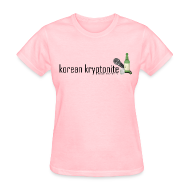 T-Shirts ~ Women's T-Shirt ~ Korean Kryptonite