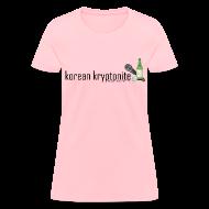 Women's T-Shirts ~ Women's T-Shirt ~ Korean Kryptonite