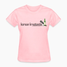 korean kryptonite Women's T-Shirts