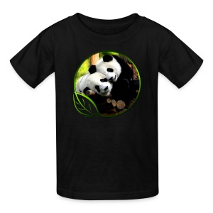 Green Life Series - Pandas - Kids' T-Shirt