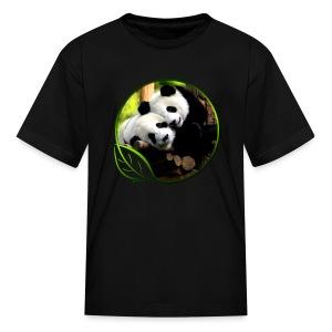 Green Life Series - Pandas - Kids' T-Shirt