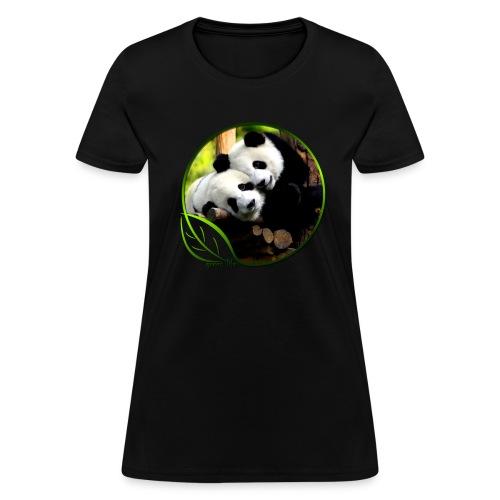 Green Life Series - Pandas - Women's T-Shirt