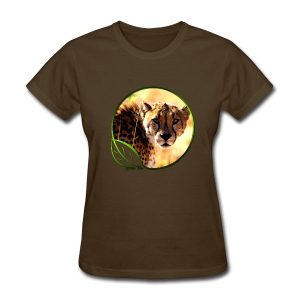Green Life Series - Cheetah - Women's T-Shirt