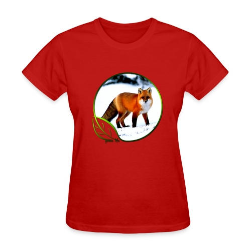 Green Life Series - Arctic Fox - Women's T-Shirt