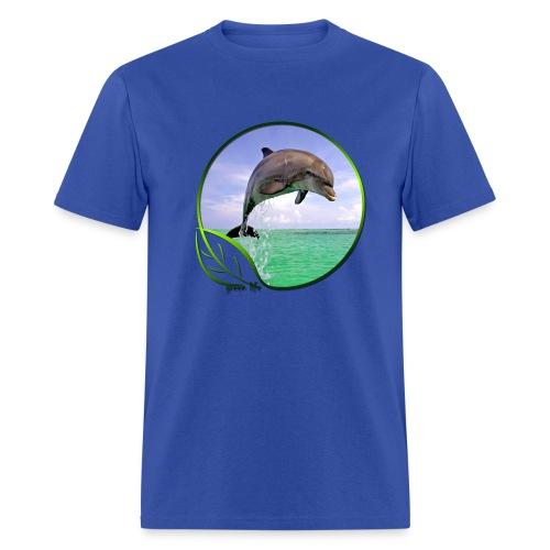 Green Life Series - Dolphin - Men's T-Shirt