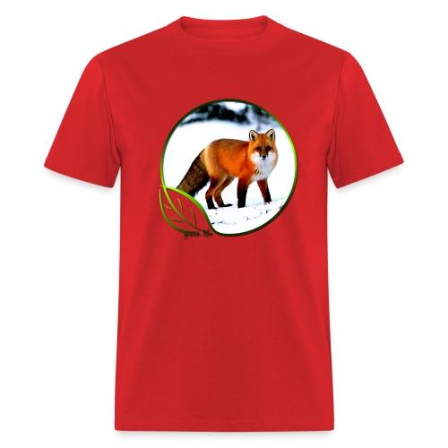 Green Life Series - Arctic Fox - Men's T-Shirt
