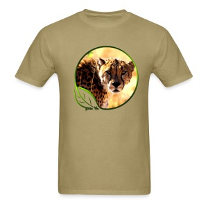 Green Life Series - Cheetah - Men's T-Shirt