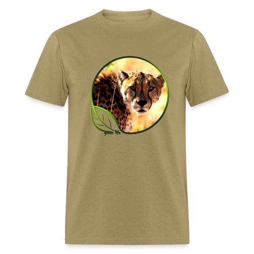 Green Life Series - Cheetah - Men's T-Shirt