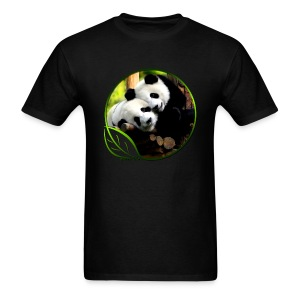 Green Life Series - Pandas - Men's T-Shirt