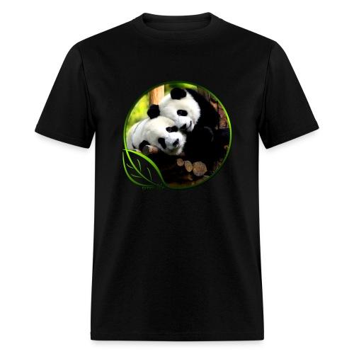 Green Life Series - Pandas - Men's T-Shirt