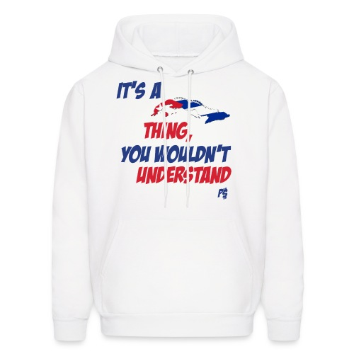 Its Cuban Thing HOOD - Men's Hoodie