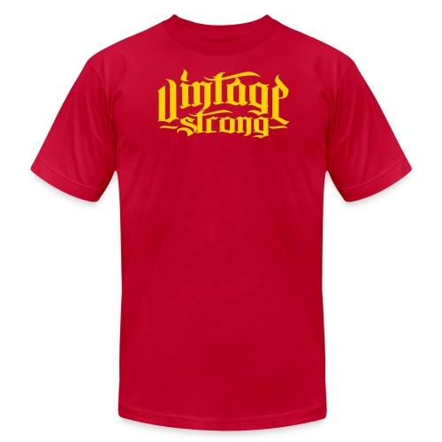 Vintage Brown VS logo - Men's Fine Jersey T-Shirt