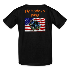 Children's T Back US Flag HarDaddy's Custom - Kids' T-Shirt