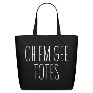 OH EM GEE TOTES Eco-Friendly Tote - Eco-Friendly Cotton Tote