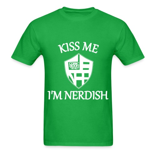 nerdish... - Men's T-Shirt