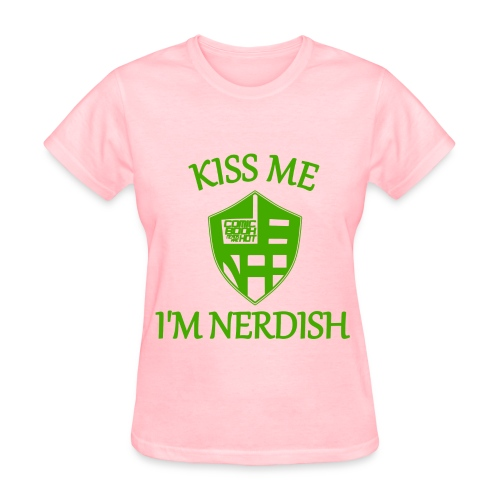 nerdish ladies... - Women's T-Shirt