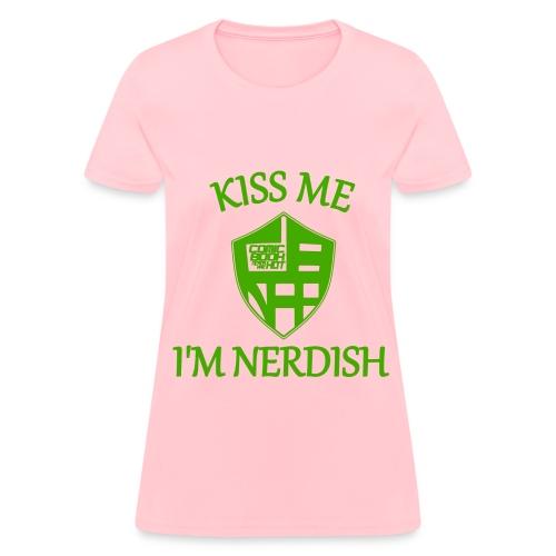 nerdish ladies... - Women's T-Shirt