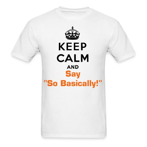 Men's So Basically Tee - Men's T-Shirt