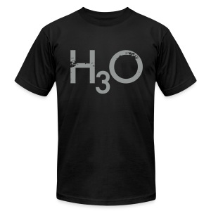 H3O - Men's T-Shirt by American Apparel