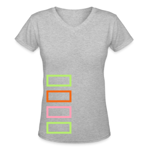 Bar Trim - Women's V-Neck T-Shirt