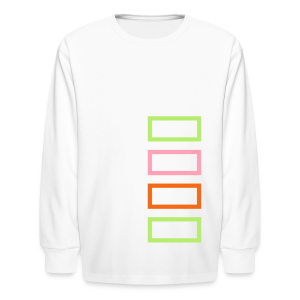 Bar Trim - Kids' Long Sleeve T-Shirt