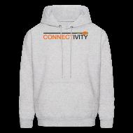 Hoodies ~ Men's Hoodie ~ Connectivity Logo Hoodie Sweatshirt