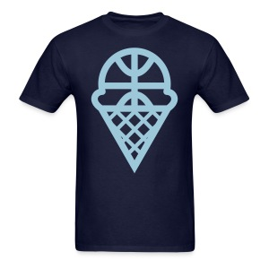 SCOOP 'N HOOP - Men's T-Shirt