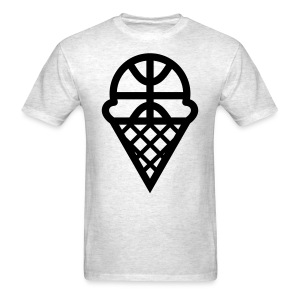 THE BIG FUNDY- SCOOP 'N HOOP - Men's T-Shirt
