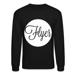 FLYER circle crewneck sweatshirt - Crewneck Sweatshirt