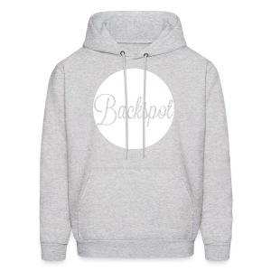 BACKSPOT circle hooded sweatshirt - Men's Hoodie