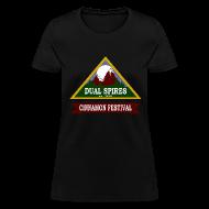Women's T-Shirts ~ Women's T-Shirt ~ Dual Spires (Psych) - Women's