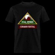 T-Shirts ~ Men's T-Shirt ~ Dual Spires (Psych) - Men's